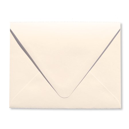 Shipped Free Ivory 25 Pack A2 Contour Euro Flap 70lb Envelopes (4 3/8 x 5 3/4) Perfect for Enclosures, Invitations, Announcements, Weddings by The Envelope Gallery