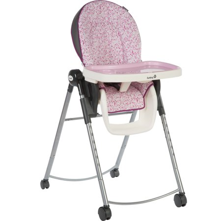Safety 1st Adaptable 3 Position Lightweight High Chair Sorbet Pink