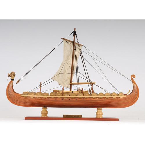 Old Modern Handicrafts Viking Small Model Boat