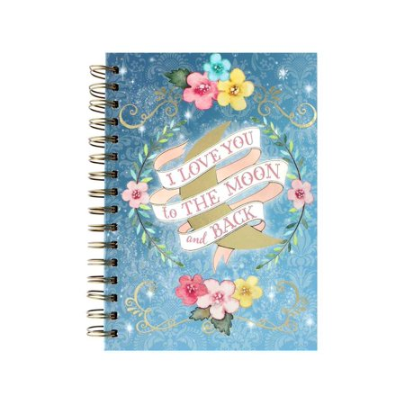 Journal Spiral To The Moon  Punch Studio Journal Spiral To The Moon By Punch Studio