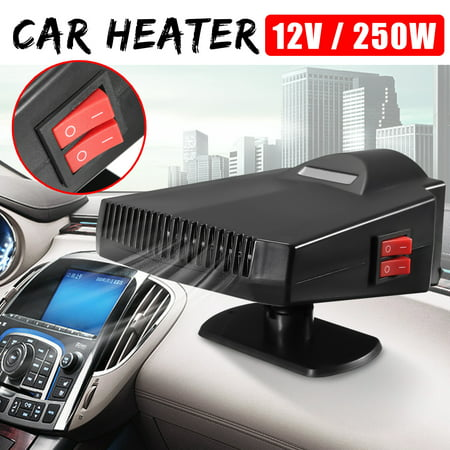 Universal 2 IN1 PTC 300W 12V 15A Vehicle 2-in-1 Car Heater & Cooler Fan Hot Switch Windscreen Defroster Demister Vehicle Auto Overheat Protect Cigarette Lighter - image 14 of 14