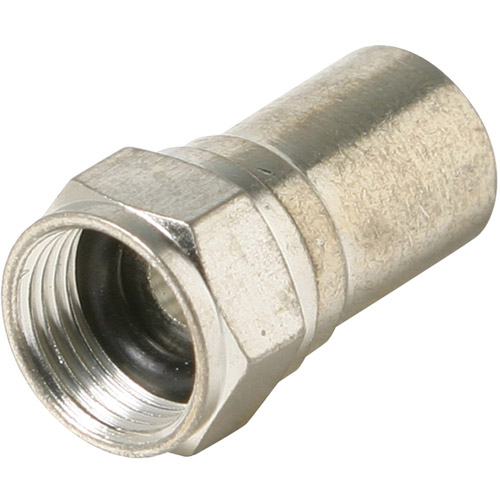 Steren 200-029 F-Taper Seal RG6 Connector, 100pk