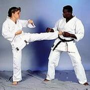 ProForce 10 oz Heavyweight Instructors Uniform - White Traditional Drawstring