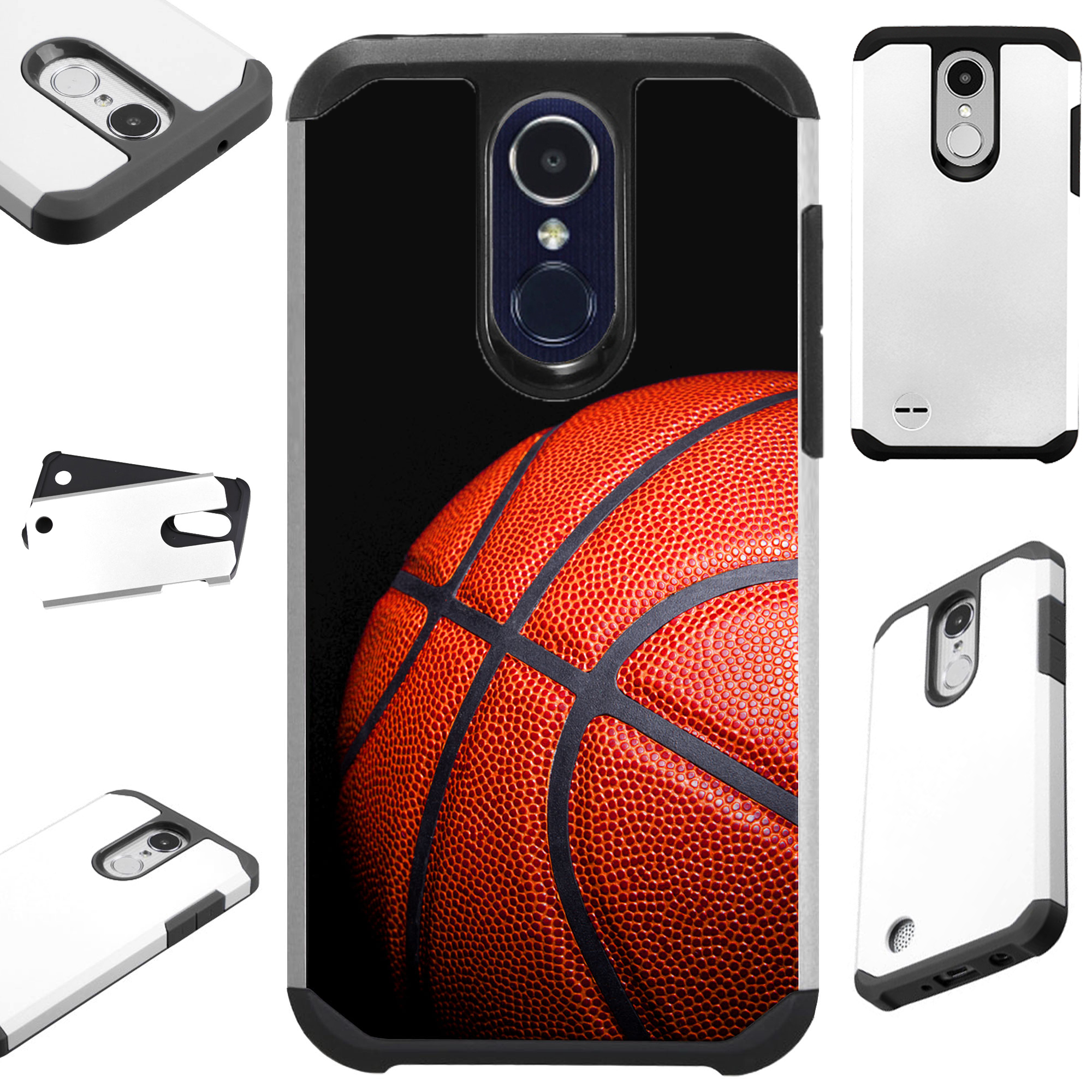 FusionGuard Phone Case Cover For LG Aristo 2 X210 | Tribute Dynasty | K8 (2018) (Basketball)