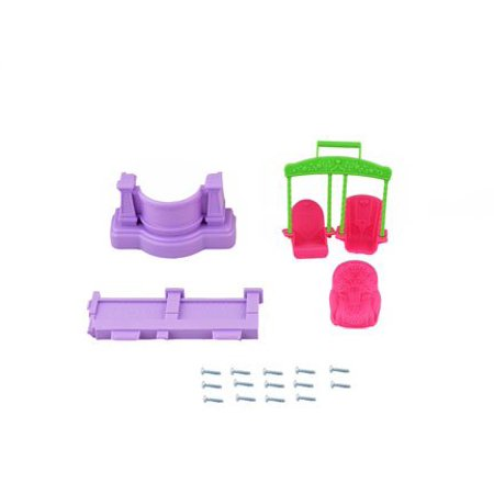 Fisher Price Loving Family Dollhouse - Replacement Parts Bag - BFR48