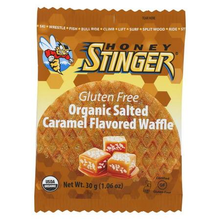 Mini Waffle (Honey Stinger Waffle - Salted Caramel Waffle - Case Of 16 - 1 Oz. )