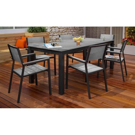 Modway Maine 7 Piece Outdoor Patio Dining Set Multiple