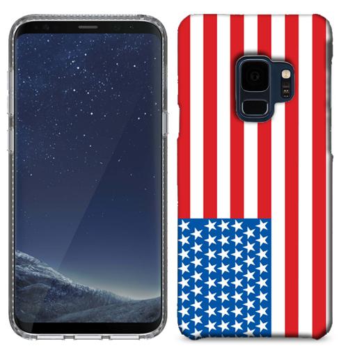 MUNDAZE American Flag Case Cover For Samsung Galaxy S9