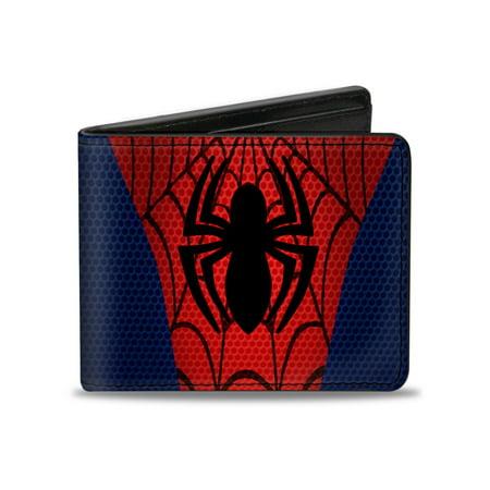 Spider-Man Marvel Comics Superhero Spiderman Spider and Web Logo Bi-Fold Wallet