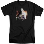 Arkham City Certified Insane Mens Big and Tall Shirt