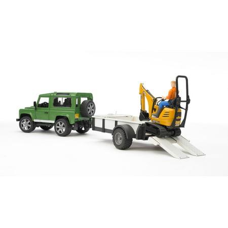 Bruder - Land Rover Defender with Trailer