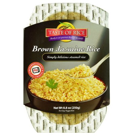 Taste Of Rice Ready-to-Eat Gourmet Rices of the World Brown Jasmine Rice 8.8