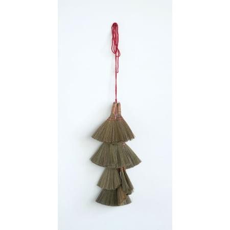 Decorative Handheld Bamboo Whisk Broom (Hand Held Boom Pole)