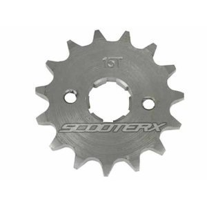 15 Tooth Sprocket 17mm 420 Chain Fits Quads, Pit Bike, Motorcycles, Go Karts, 50cc 70cc 90cc 110cc 125cc By Scooter X