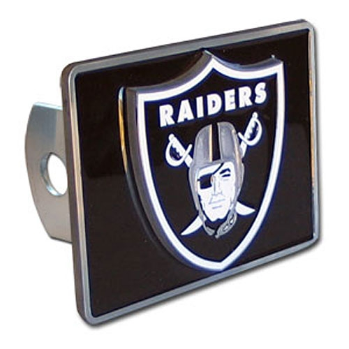 Siskiyou Gifts Oakland Raiders Trailer Hitch Cover