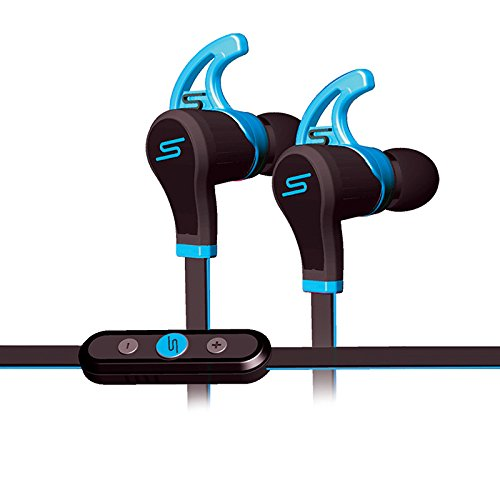 Sms Audio Sync By 50 In-ear Wireless Professionally Tuned Headphones - Stereo - Blue - Wireless - Bluetooth - 32.8 Ft - 20 Hz - 20 Khz - Earbud - Binaural - In-ear (sms-ebbt-sprt-blu)