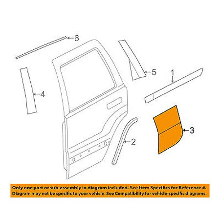 Jeep Grand Cherokee Grille Guards (Jeep CHRYSLER OEM Grand Cherokee Exterior-Rear-Stone Guard Right 68071574AB )