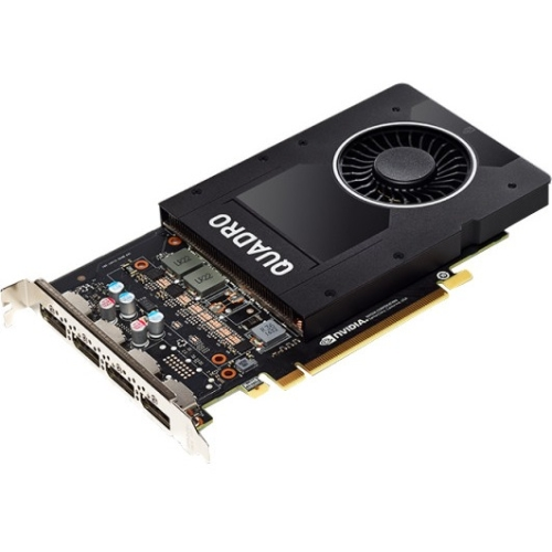 PNY Quadro P2000 Graphic Card 5 GB GDDR5 PCI Express 3.0 x16 Full-height Single Slot Space Required 160 bit Bus Width... by PNY