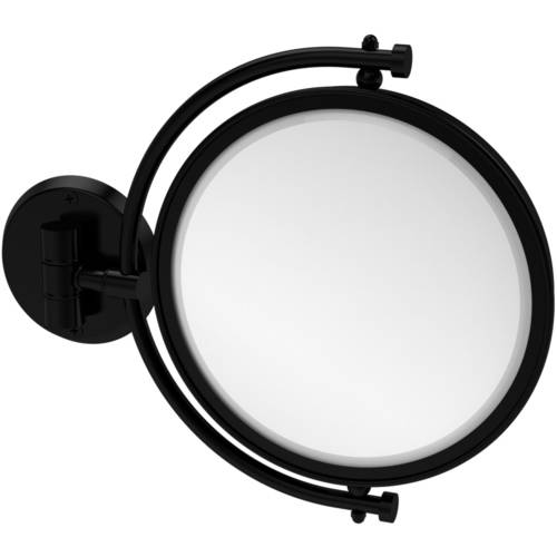 "8"" Wall-Mounted Make-Up Mirror, 2x Magnification (Build to Order)"