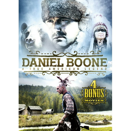 Daniel Boone: A True American Legend (With 4 Bonus Movies) -