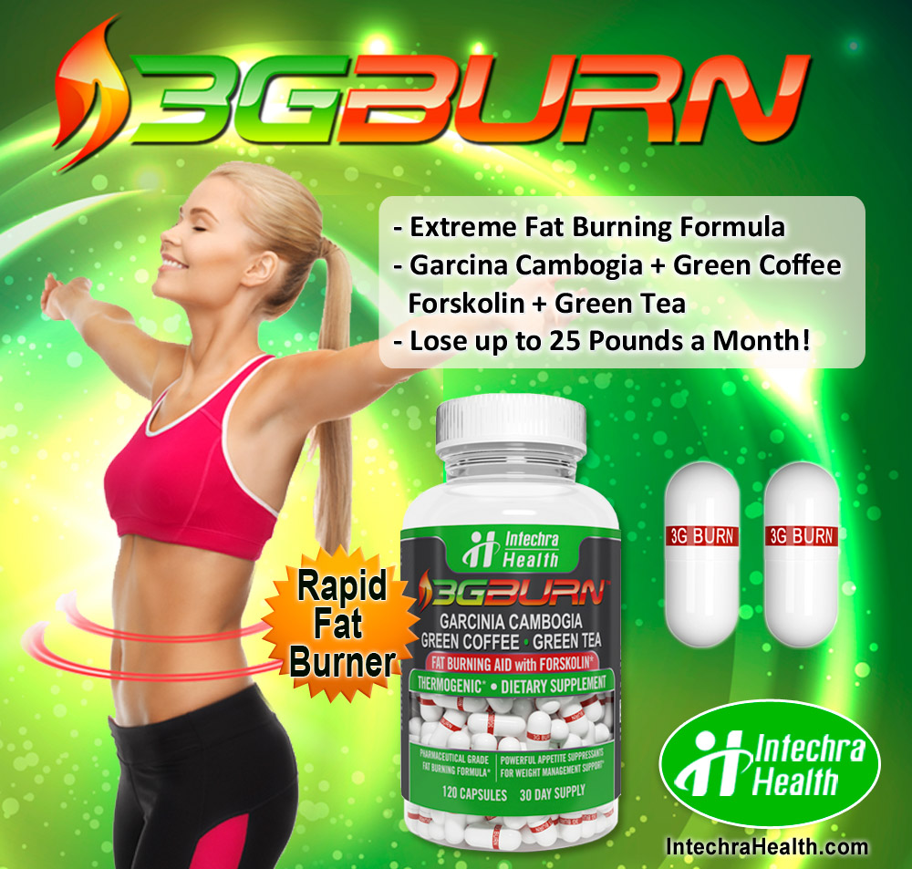 3G-BURN Extreme Fat Burning Formula - Thermogenic Diet Pills Made ..., ,best fat burner cream