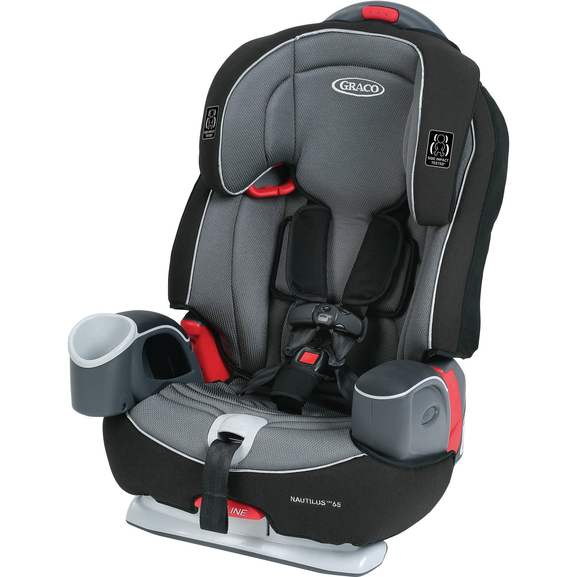 Graco Nautilus 65 3-in-1 Harness Booster Car Seat, Bravo