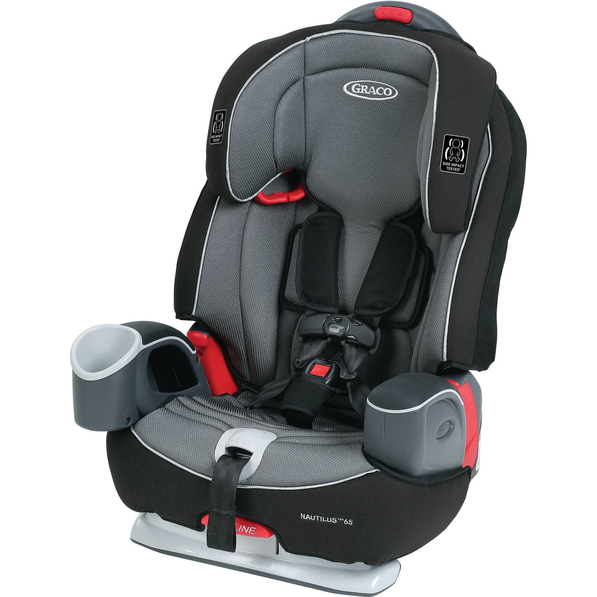 Graco Nautilus 65 3-in-1 Harness Booster Car Seat, Bravo ...