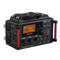 TASCAM DR-60D-mkII 4-Channel Linear PCM Audio Portable DSLR Film Recorder/Mixer