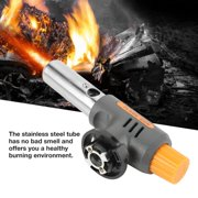 Mgaxyff Professional Portable Brass Kitchen Cooking Gas Butane Culinary Torch Welding BBQ Flame Gun, BBQ Flame Gun, Cooking Torch