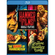 Hammer Films Double Feature: The Revenge of Frankenstein   Curse of the Mummy's Tomb (Blu-ray) by Mill Creek Entertainment