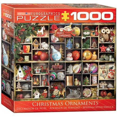 Christmas Ornaments 1000-Piece - Puzzle Piece Ornaments