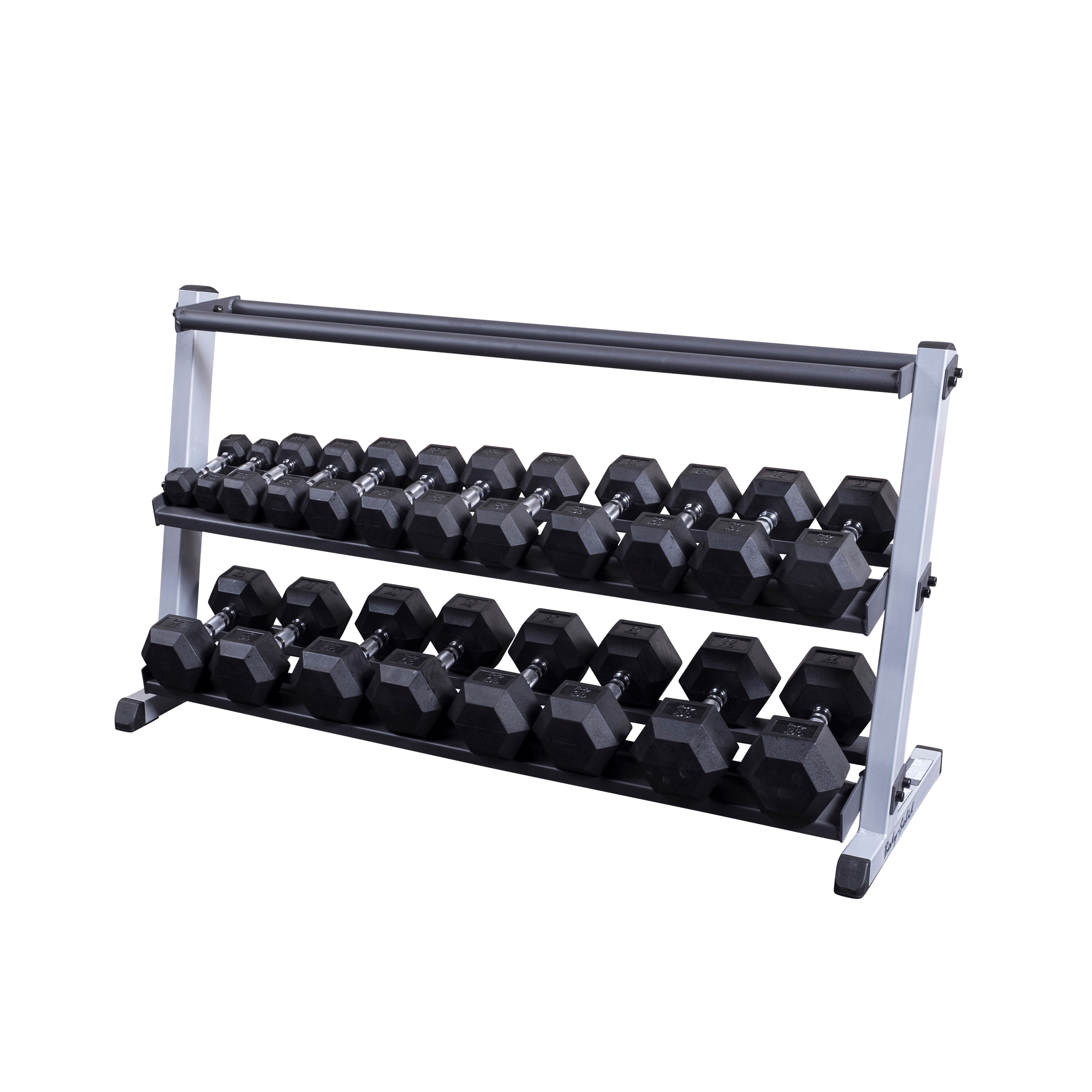 Body Solid GDR60MRT 3 Tier Dumbbell / Medicine Ball Rack