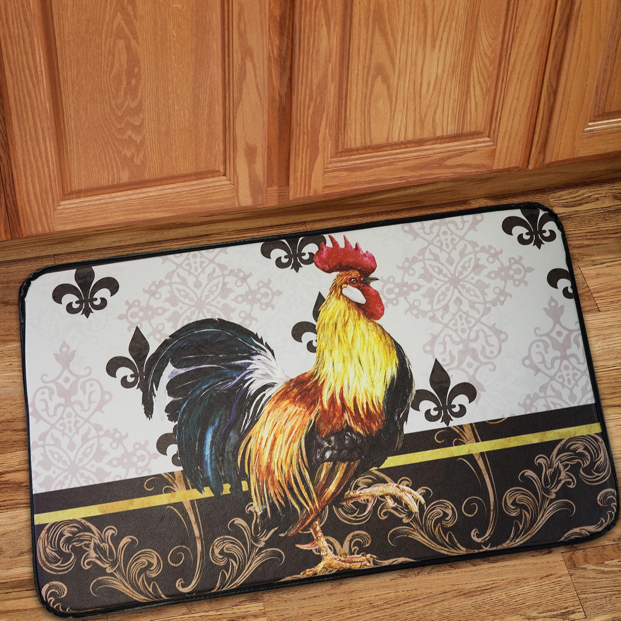 Memory Foam Anti Fatigue Chef Design Kitchen Floor Mat Rug 30 X 18