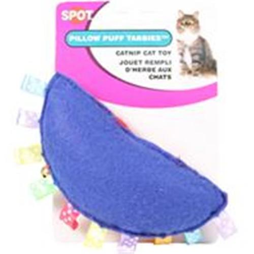 Pillow Puff Tabbie Catnip Cat Toy