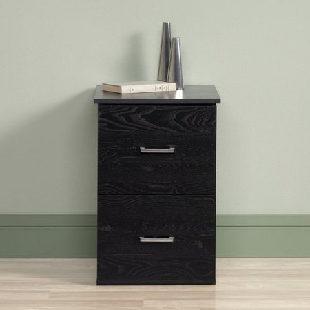 Sauder 2 Drawer File Cabinet Ebony Walmart