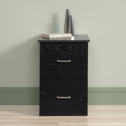 sauder 2drawer file cabinet ebony