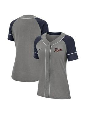 Detroit Tigers Nike Women's Classic Baseball Jersey - Gray