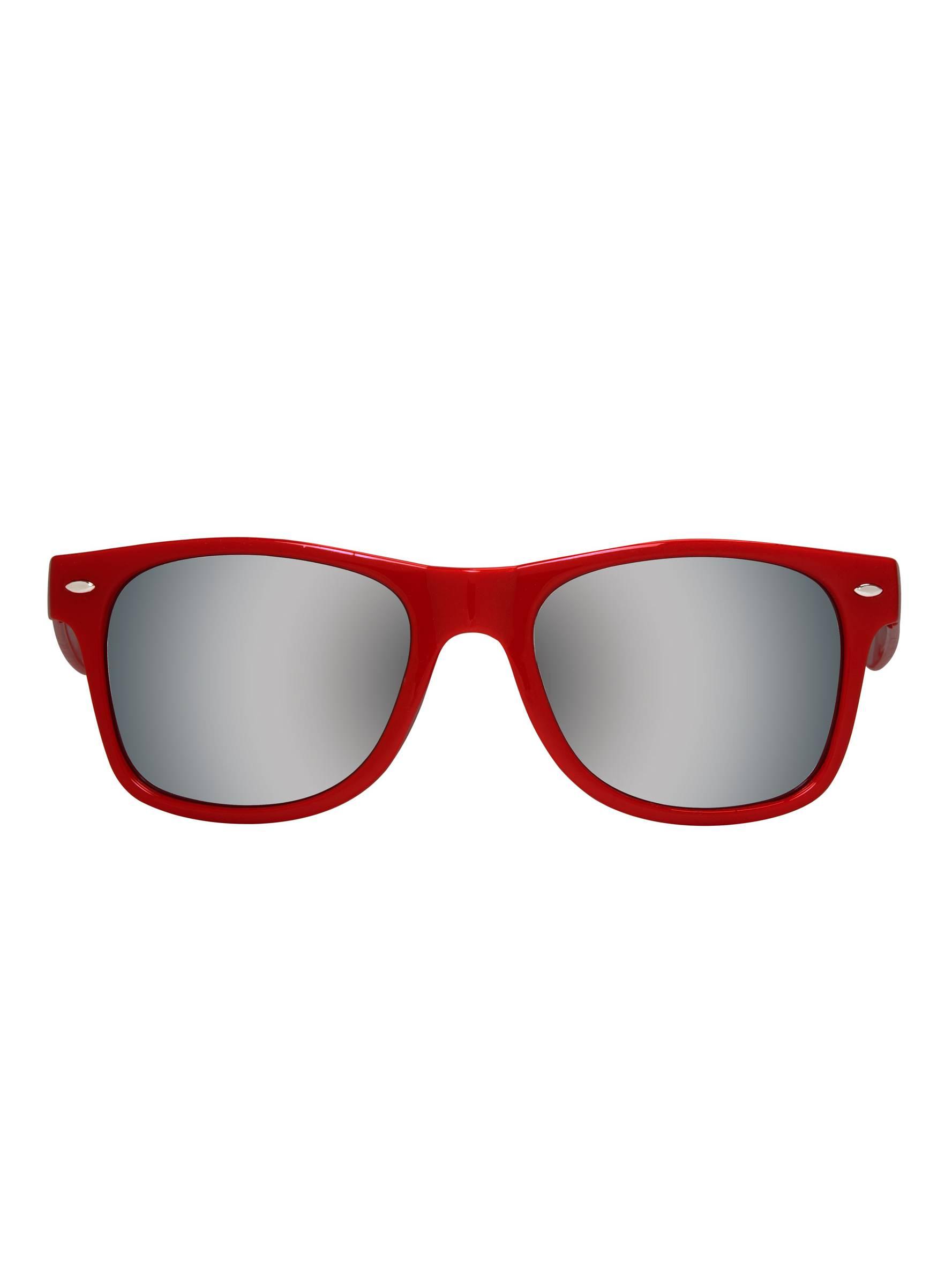9b32f8d9803 Gravity Shades Horn-Rimmed Mirror Sunglasses