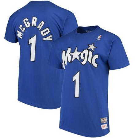 Halloween Express Orlando (Tracy McGrady Orlando Magic Mitchell & Ness Hardwood Classics Retro Name & Number T-Shirt -)