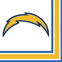 Partypro San Diego Chargers Lunch Napkin