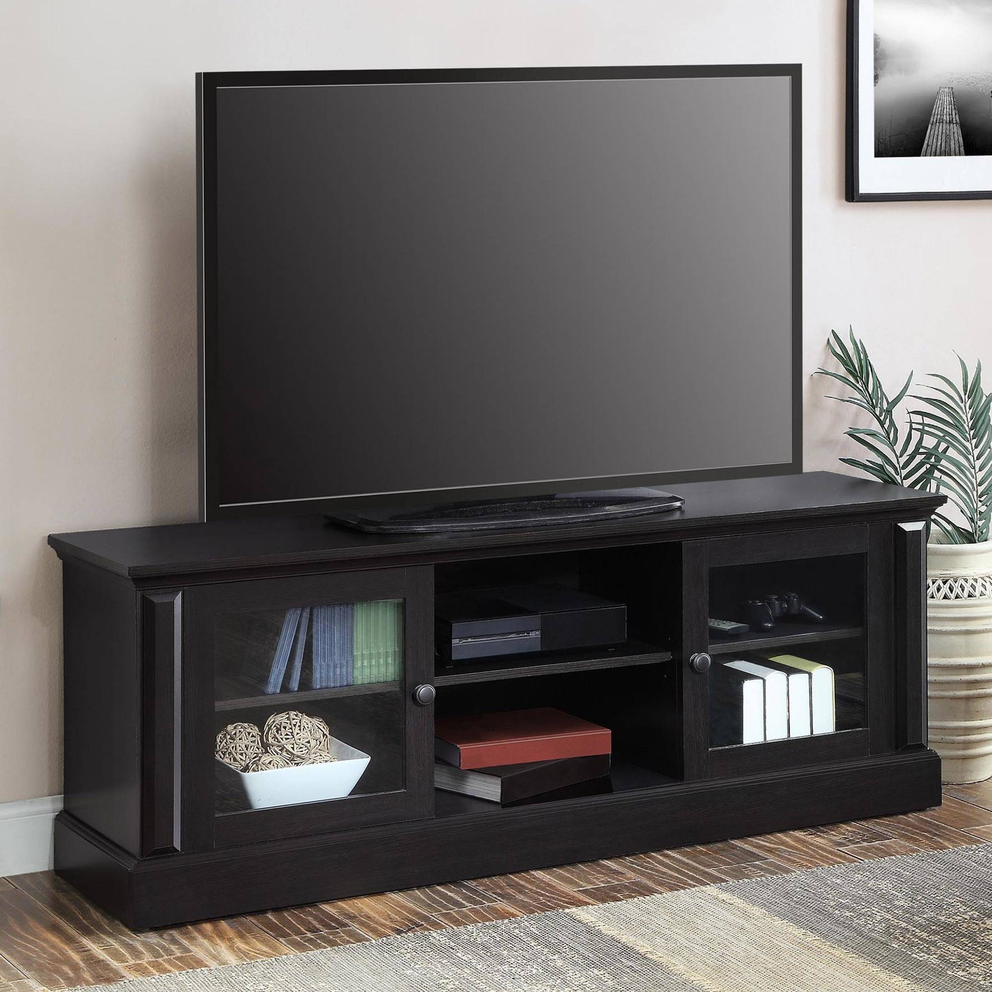 "Barston Media Console for TVs up to 70"", Espresso Finish"