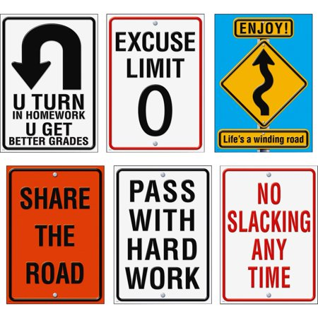 Trend, TEPTA67908, ARGUS Life Signs Posters, 6 / Pack, Assorted ()