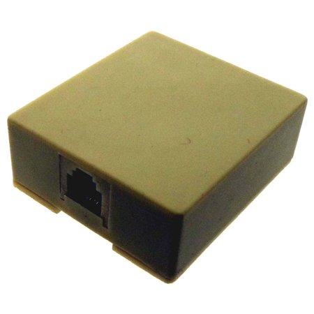 Modular Surface Jack Cover (Modular Surface Jack - 2 Sided Tape & Screws Included (ToolUSA: PA0464) )