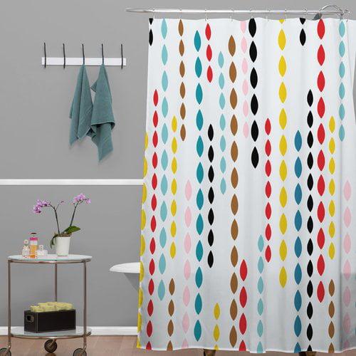 Brayden Studio Banda Nolita Drops Shower Curtain