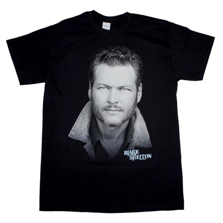 Blake Shelton Portrait T-Shirt - Blake Shelton Halloween