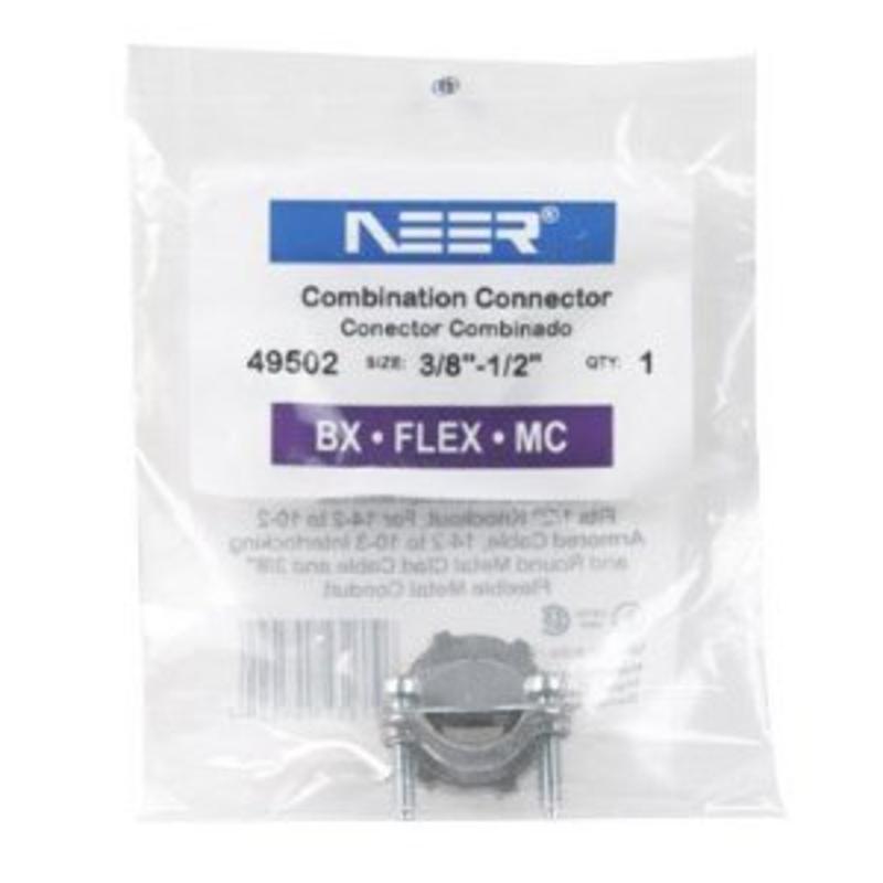 "Connector Combination 3/8"" Sigma Electric Conduit 49502 031857495022"