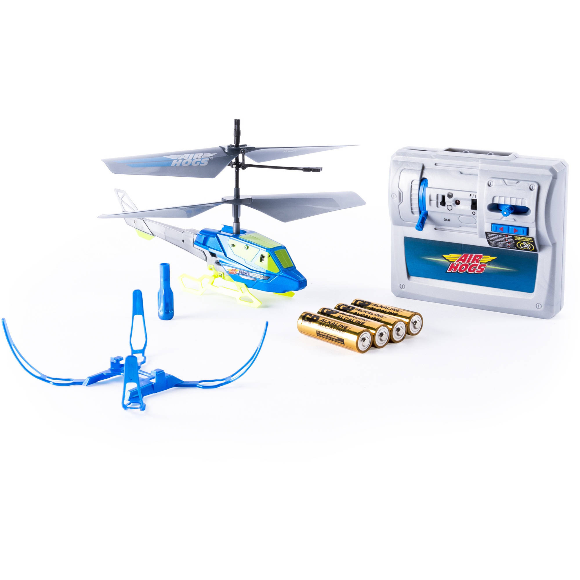 Air Hogs Axis 200 RC Helicopter with Batteries, Blue