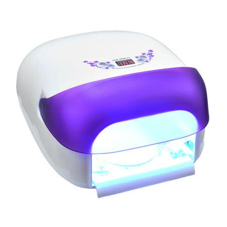 Single Salon Edge Digital UV Nail Lamp 36W