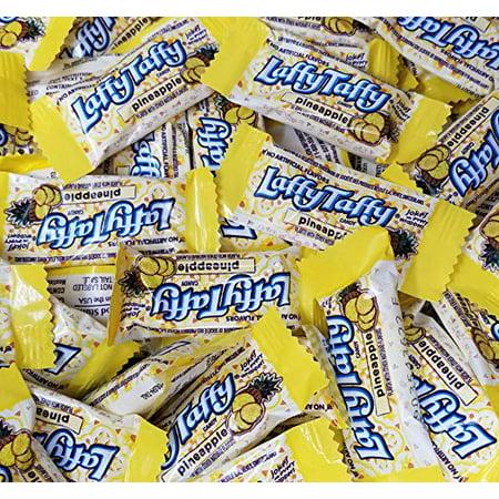 Laffy Taffy Pineapple Candy, Bulk (2 Lbs)](Blue Laffy Taffy)
