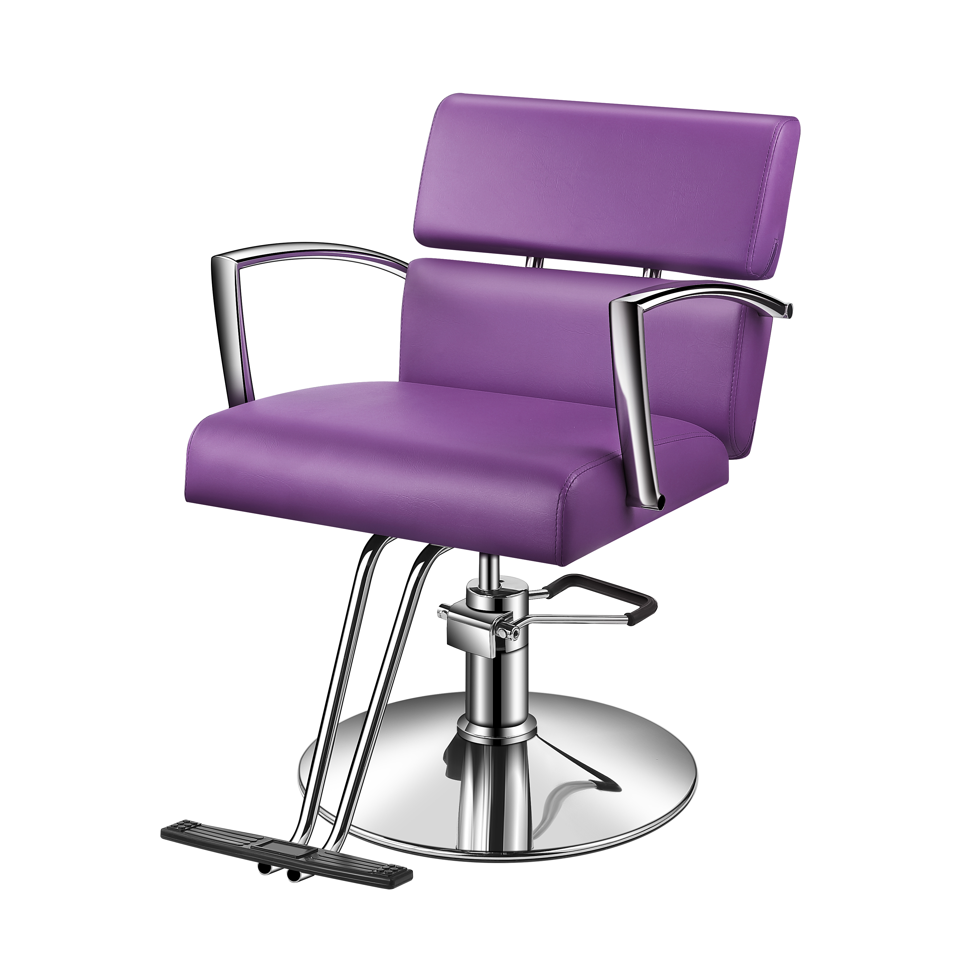Baasha Modern Purple Salon Chairs For Hair Stylist With Hydraulic Pump Easy To Assemble Salon  sc 1 st  Walmart & Baasha Modern Purple Salon Chairs For Hair Stylist With Hydraulic ...